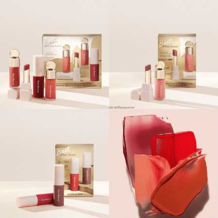 Rare Beauty Holiday Collection 2020 - Mini gift sets - Best of Rare Beauty Lip & Cheek 2 Piece Mini Duo, Best of Rare Beauty Lip & Cheek 4 Piece Mini Set, Best of Rare Beauty Mini Lip Soufflé Matte Lip Cream Duo