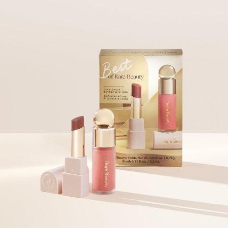 Rare Beauty Holiday Collection 2020 - Best of Rare Beauty Lip & Cheek 2 Piece Mini Duo