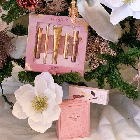 2020 Wander Beauty Holiday Gift Sets - Daydreamer Eye Essentials Kit, Eye-tinerary Mascara Kit, and Baggage Claim Upgrade.