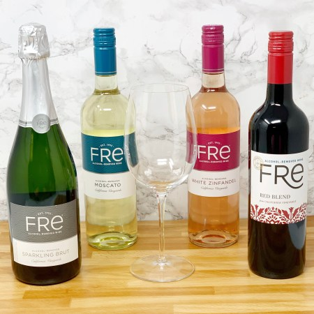 Fre Alcohol Removed Wine - Sparkling Brut, Moscato, White Zinfandel, Red Blend - Non Alcoholic Wine