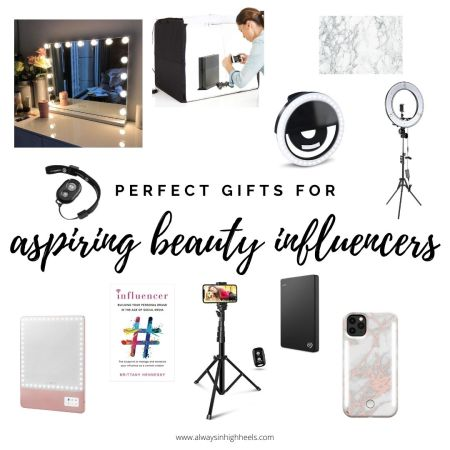 Perfect gift ideas for aspiring beauty influencers