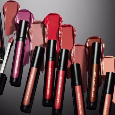 Pat McGrath Labs Liquilust Liquid Lipstick Shades - Nude Cabaret, Wild Orchid, Spellbound, Flesh 3, Elson 4, Divine Rose, Divine Nude, Pink Desire and swatches