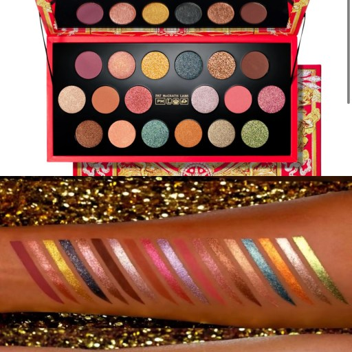 Pat McGrath Labs Holiday 2021 Celestial Odyssey Collection - MTHRSHP Mega Eyeshadow Palette
