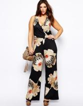 Go big on the floral for extra disguise