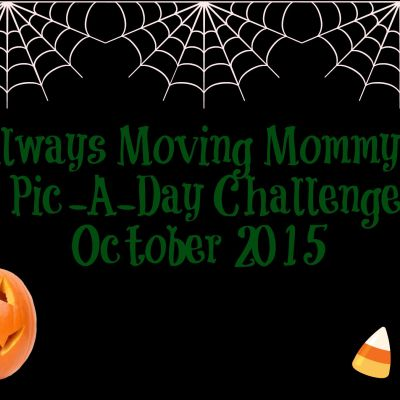 October Pic-A-Day Challenge