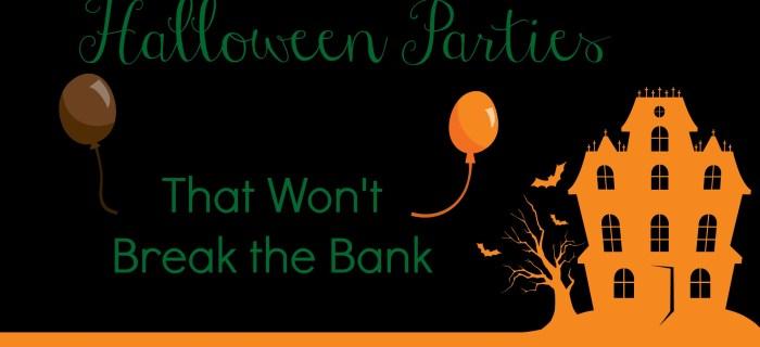 Halloween Parties That Won't Break the Bank