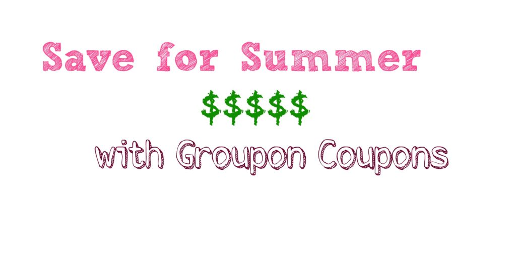 Let Groupon Coupons Help You Save for Summer | Always Moving Mommy | Don't skimp on summer fun because of a limited budget. Groupon can help you make the most of your summer