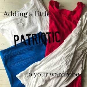 Let New York & Company help you add some red, white and blue to your wardrobe | www.alwaysmovingmommy.com