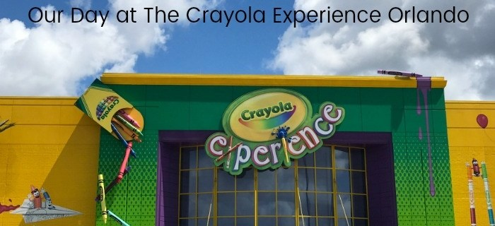 Our Day at The Crayola Experience Orlando
