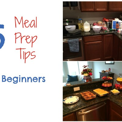 5 Meal Prep Tips for Beginners