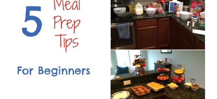 5 Meal Prep Trips for Beginners | Always Moving Mommy | Need more time in your day? Meal prep can help with that!