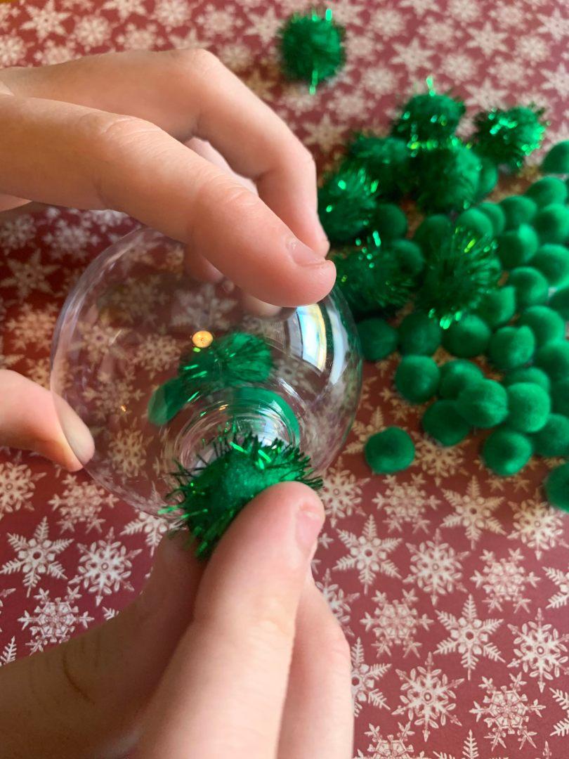 DIY Grinch Ornament Assembly | AlwaysMovingMommy.com