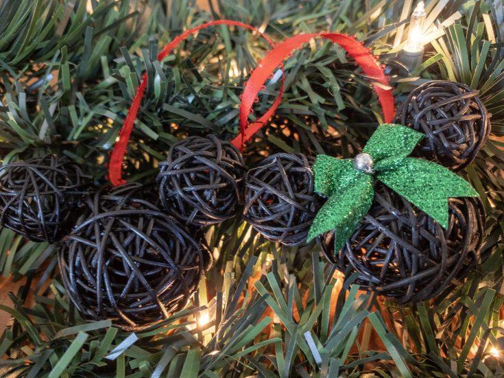 Mickey and Minnie Ornaments