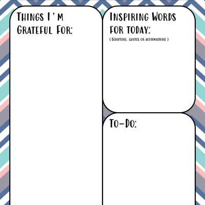 Free Printable Self Care Journal for Moms