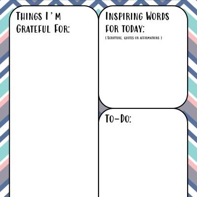 Free Printable Self Care Journal for Moms