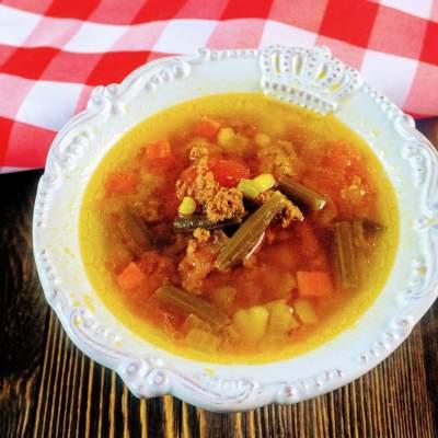 Quick and Easy Instant Pot Hamburger Soup