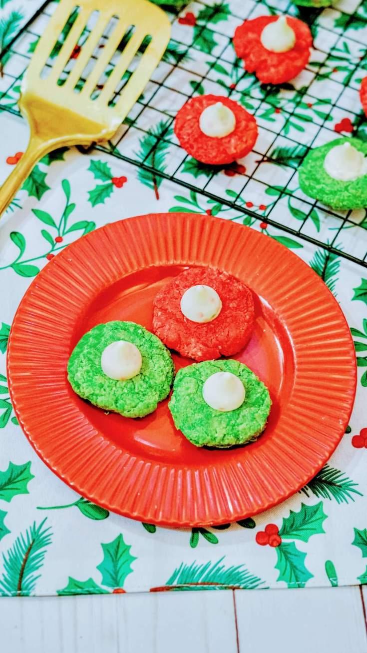 Sugar Cookie Kiss Cookies