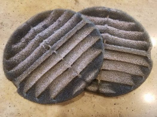 AC Vent Filters Dirty