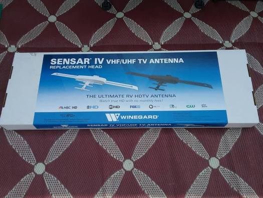 Replacement Head Only Winegard RVW-205 Sensar IV with Wingman White