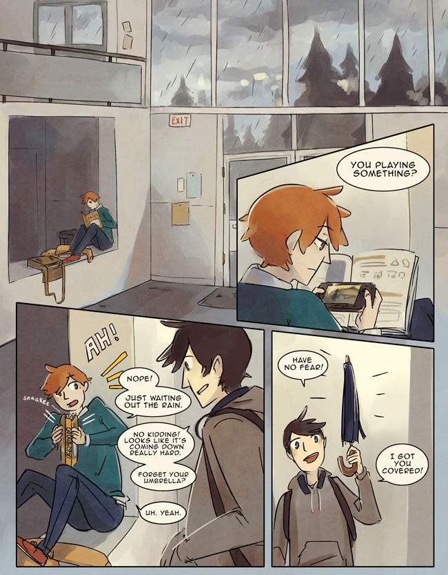 Always Raining Here, volume 2, page 1