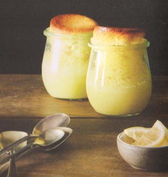 lemon sponge cups