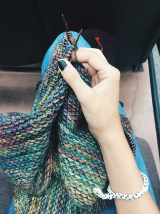 I CAN KNIT.