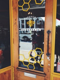 I thought that the Bee Charmer shop was ironic, especially because when I walked by I was limping and my whole leg was pulsing from the stings of BEES.