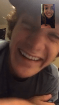 And no night is complete without talking to the person who makes my heart the happiest