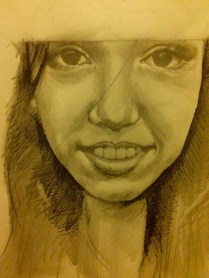 Wednesday, 3:00pm: A friend from Peace Camp drew me. No big deal.