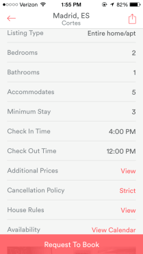 Everything is at your fingertips: when to check in and out, house rules, and what happens if you need to cancel.