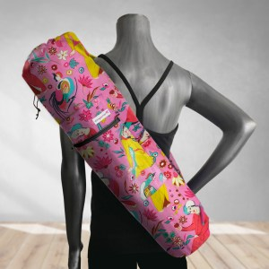 Fortune Teller Pink Yoga Bag
