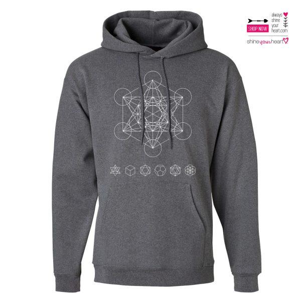 metatron's cube unisex hoodie