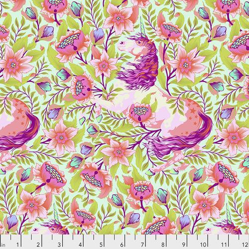 Magical Poppies Pink Shoulder Yoga Bag