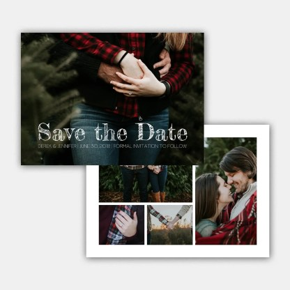 classic save the date template
