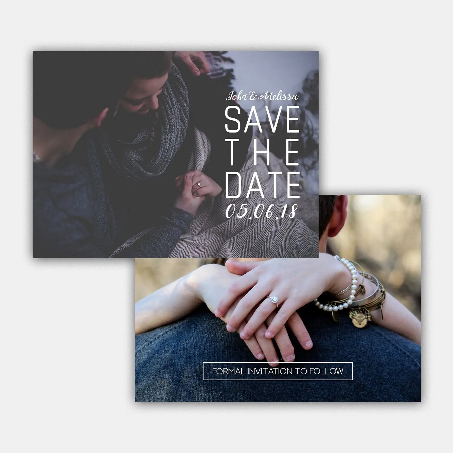 playful save the date template