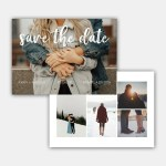 my always save the date template
