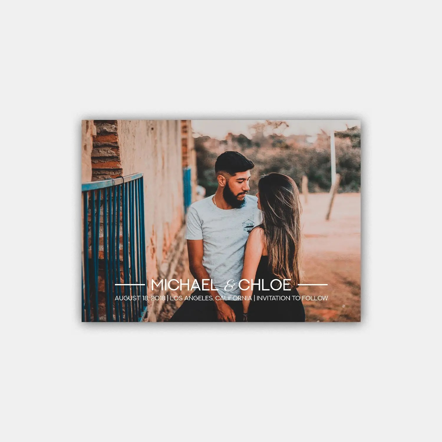 sophisticated save the date template