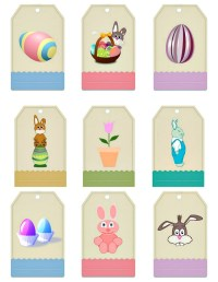Free easter gift tags printables merry christmas and happy new free easter gift tags printables negle Images