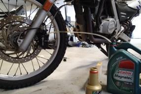 More brake maintenance.