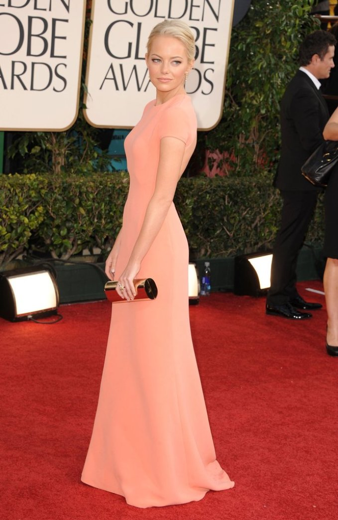 A2F Best Dressed: Emma Stone in Calvin Klein