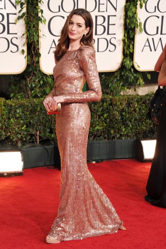 A2F Best Dressed: Anne Hathaway in Georgio Armani