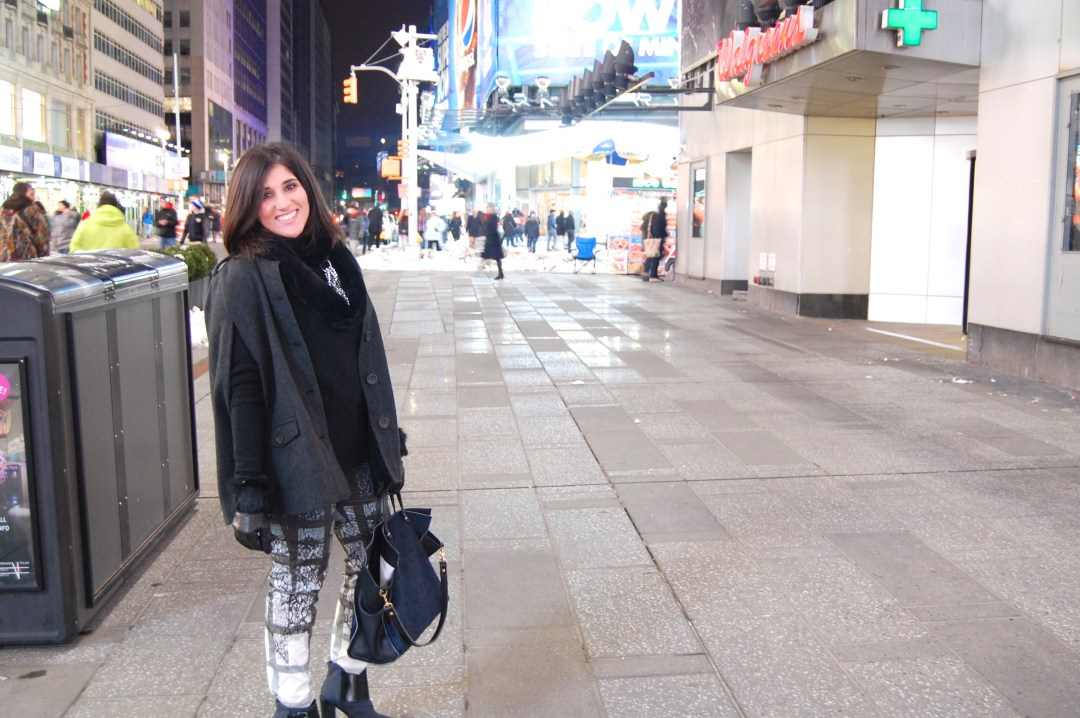 ATF Times Square Tibi Outfit