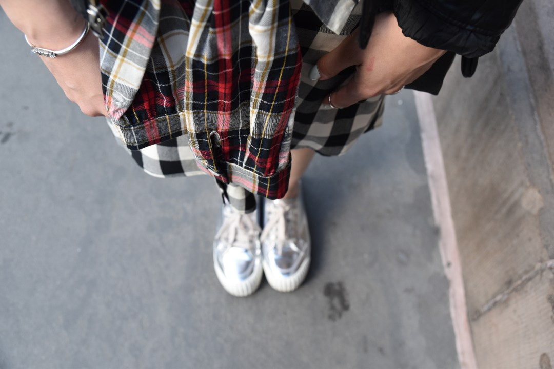 A2F Zara Plaid Skirt