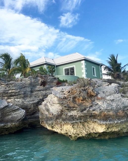 A2F Turks and Caicos Villas in the water