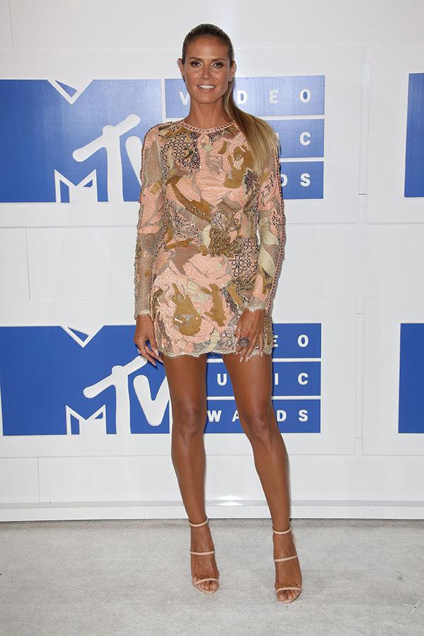 A2F Best Dressed: Heidi Klum