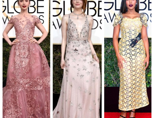 A2F Best Dressed: 2017 Golden Globes Feature Image