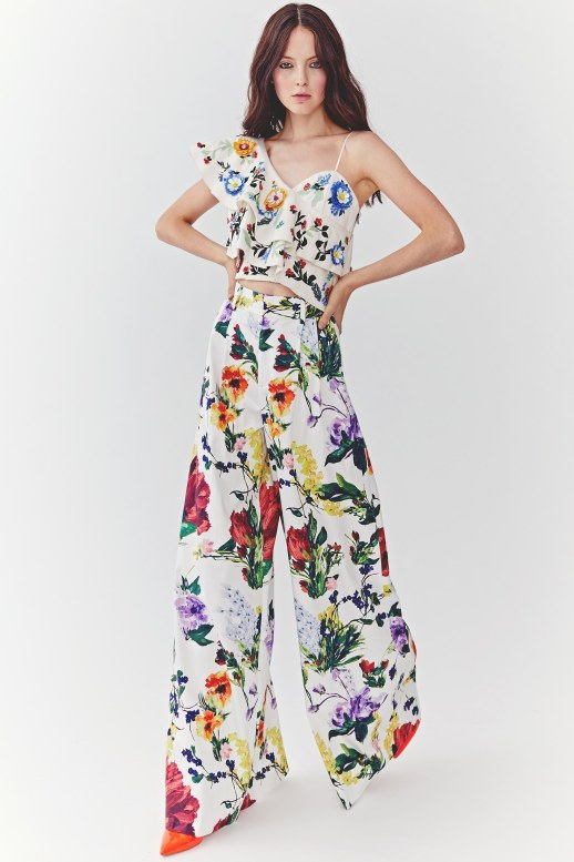 A2F NYFW S/S 2018 Floral Blooms Alice + Olivia