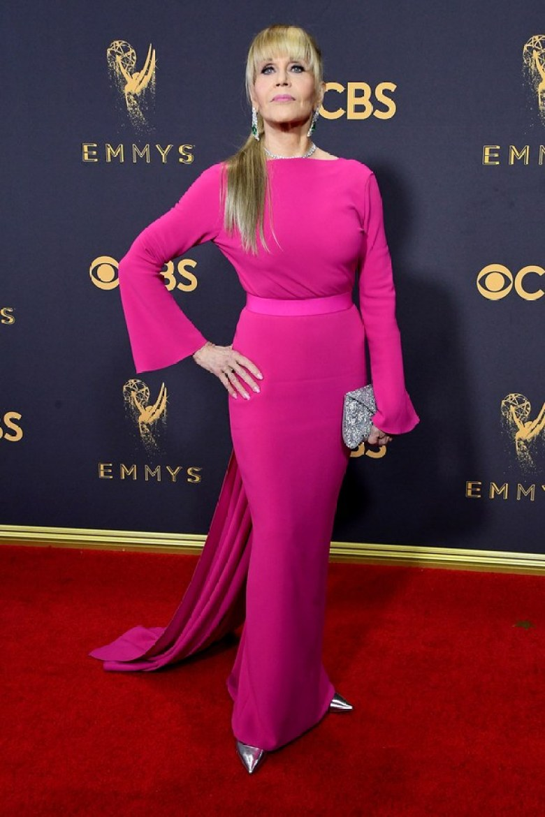 A2F Best Dressed: Jane Fonda in Brandon Maxwell