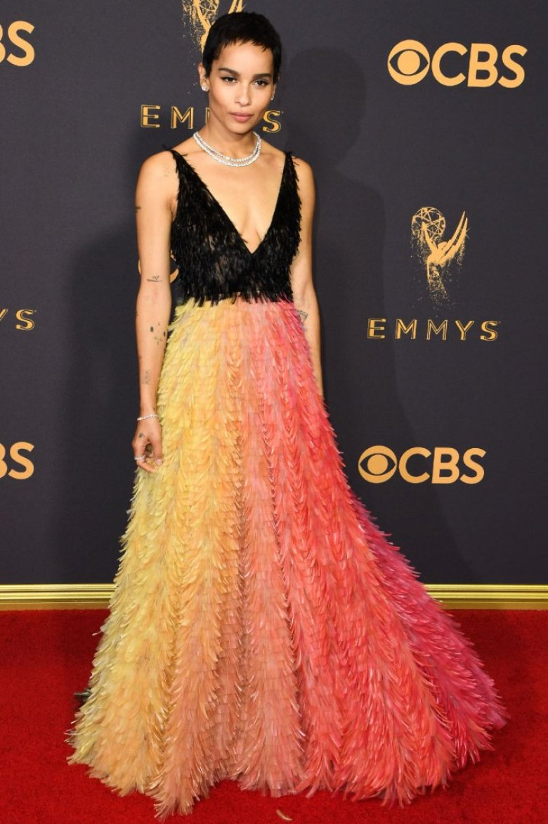 A2F Best Dressed: Zoé Kravitz in Dior Haute Couture