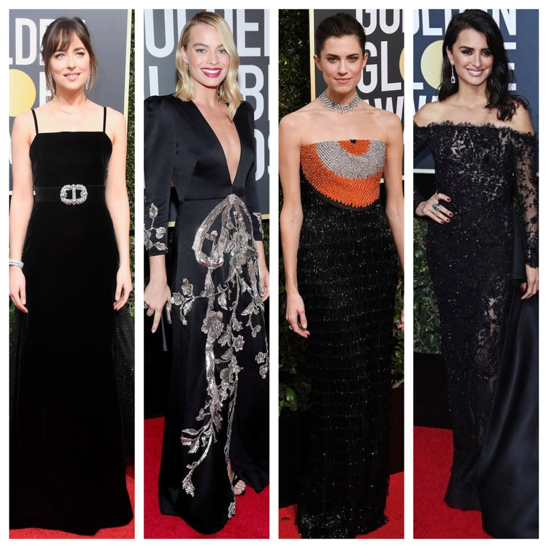 A2F Best Dressed: 2018 Golden Globes Feature Image
